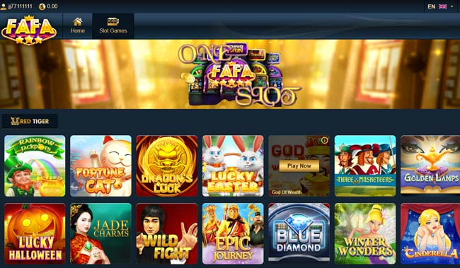Fafaslot Game Slot Terbaru 2020